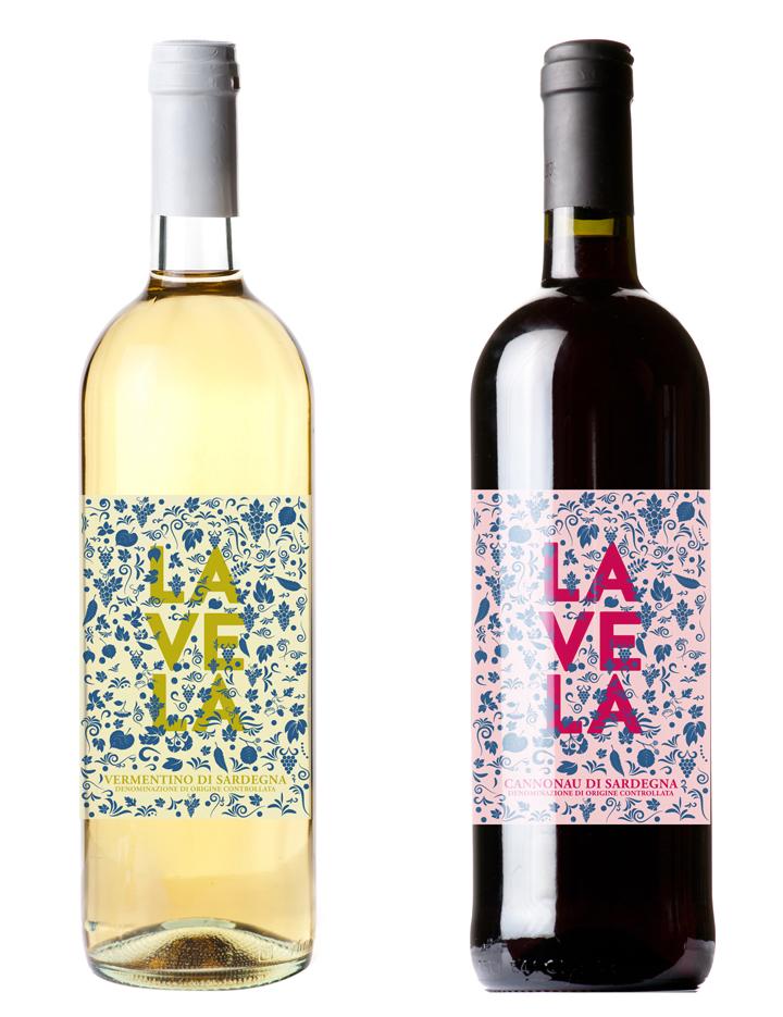 la Vela Etichette Vino