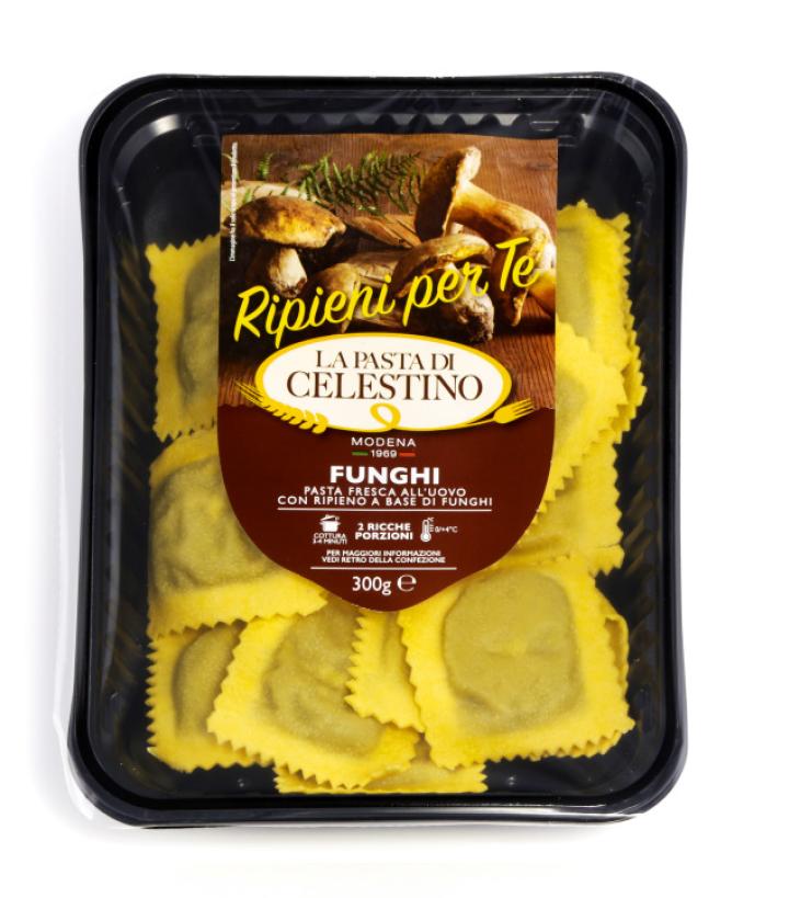La Pasta di Celestino Ravioli funghi