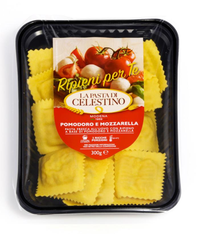 La Pasta di Celestino Ravioli pomodoro e mozzarella