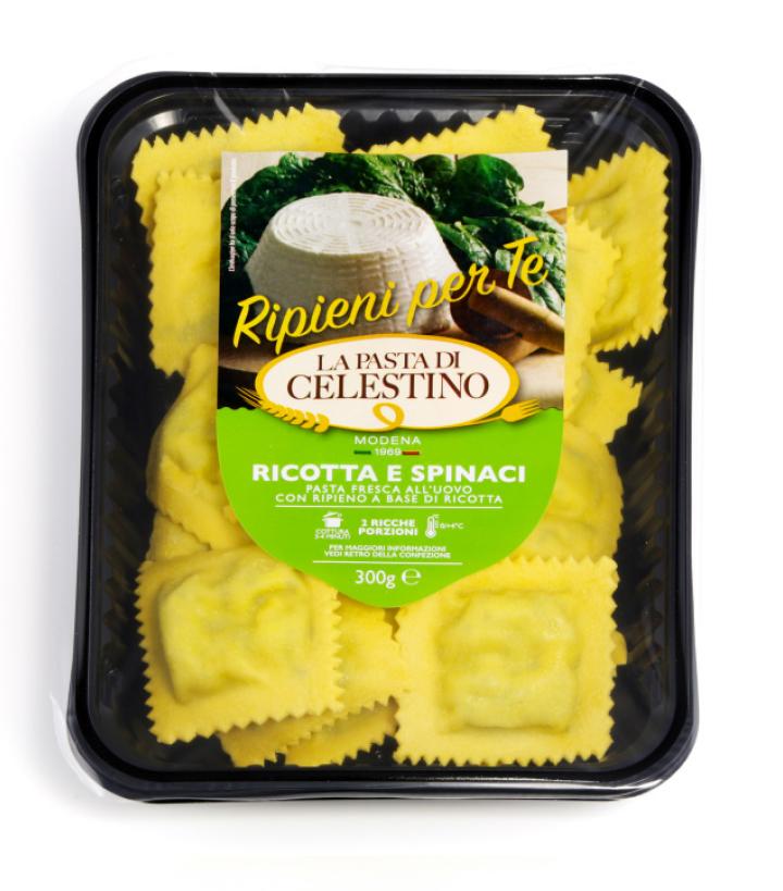 La Pasta di Celestino Ravioli ricotta e spinaci
