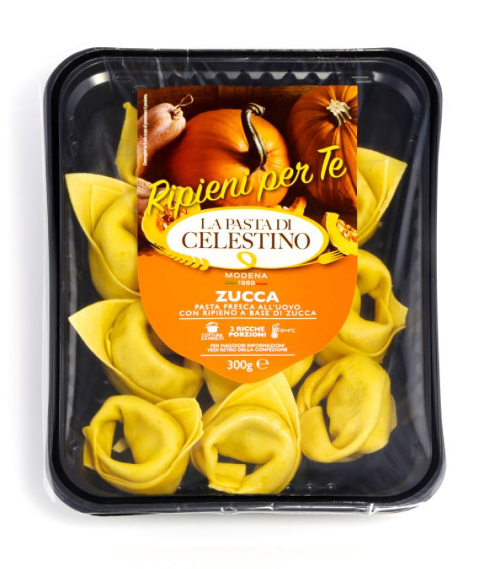 La pasta di Celestino Tortelloni di zucca